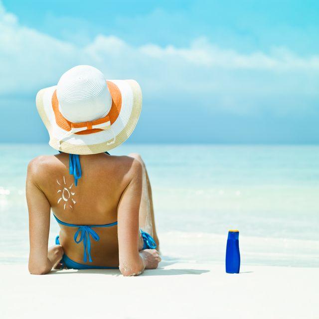 People on beach, Vacation, Summer, Sun tanning, Sky, Leisure, Caribbean, Sea, Travel, Ocean,