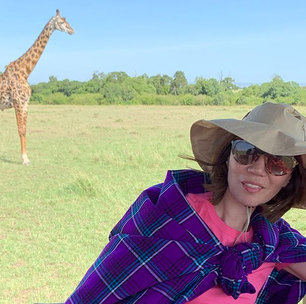 Giraffe, Giraffidae, Terrestrial animal, Wildlife, Nature reserve, Safari, Grassland, Neck, Adaptation, Wilderness,