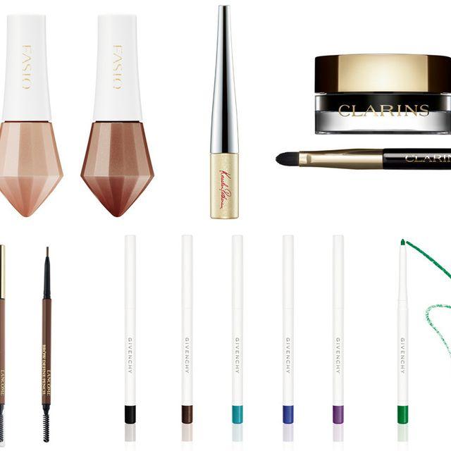 Cosmetics, Eyebrow, Eye liner, Makeup brushes, Eye, Brush,