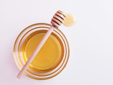 Yellow, Honey, Food, Spoon, Cutlery, Kitchen utensil, Tableware,