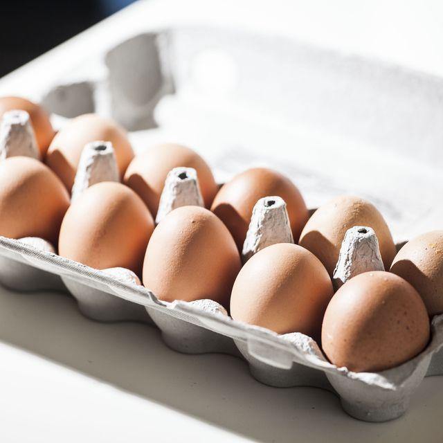 Brown, Food, Ingredient, Egg, Egg, Tan, Beige, Oval, Serveware, Egg cup,