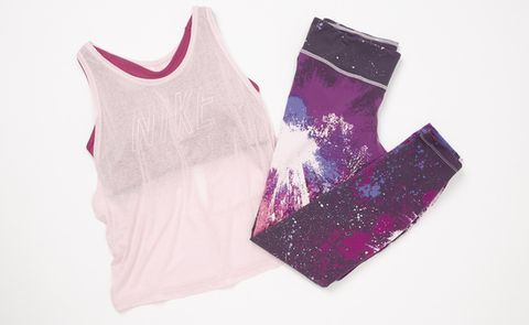 Clothing, Pink, Product, Violet, Purple, Sportswear, Sleeveless shirt, Outerwear, Magenta, Vest,