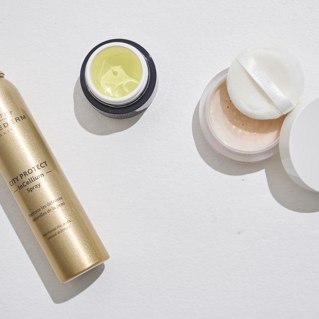Product, Skin, Vacuum flask, Beige, Cylinder,