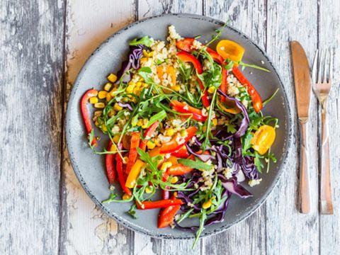 Food, Dish, Garden salad, Cuisine, Vegetable, Salad, Ingredient, Produce, Vegetarian food, Wok,