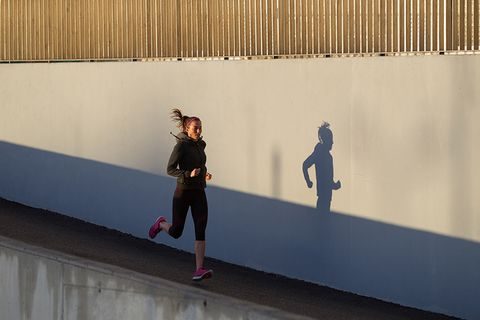 Wall, Text, Yellow, Line, Fun, Footwear, Art, Architecture, Recreation, Shadow,