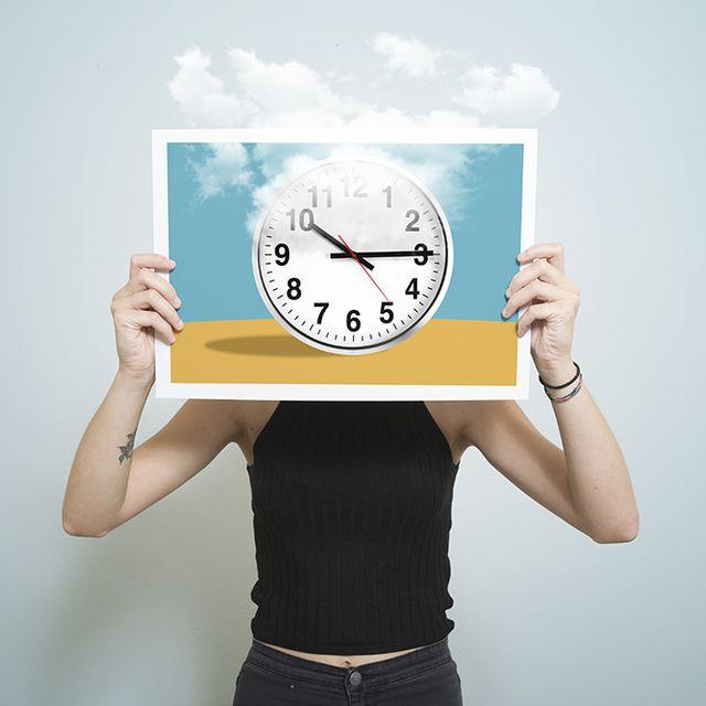 Clock, Arm, Hand, Gesture, Finger, Home accessories, Illustration, Wall clock, Logo, Interior design,