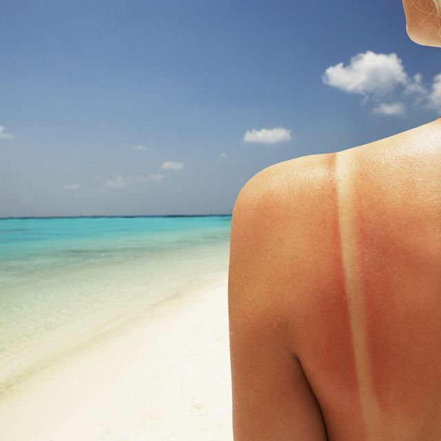 Hair, Skin, Beach, Blue, Vacation, Sun tanning, Sea, Sky, Blond, Beauty,