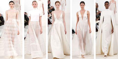 Shoulder, White, Formal wear, Waist, Style, Dress, Pattern, Fashion, Beauty, Neck,