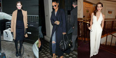 Clothing, Eyewear, Vision care, Leg, Coat, Trousers, Outerwear, Dress, Formal wear, Bag,