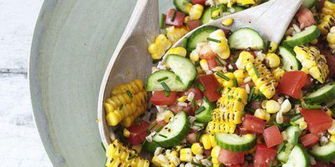 tomato corn and barley salad