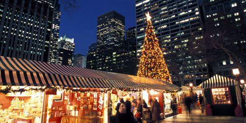 Lighting, City, Tower block, Metropolitan area, Metropolis, Public space, Urban area, Building, Skyscraper, Christmas decoration,