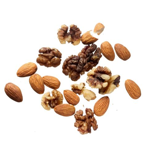 "<p>""Too many of my clients steer clear of nuts because they're high in fat, but dietitians eat them because we know that monounsaturated fat, in moderation, can help you maintain your weight or even lose. Almonds and walnuts are my favorites. They satisfy a crunchy craving, and the fat-fiber combo fills me up. Nuts are also loaded with protein, antioxidants, and a variety of vitamins and minerals.""<em> —Keri Glassman</em></p>"