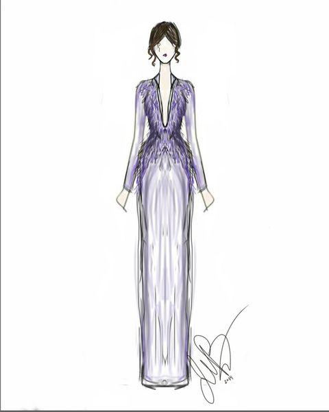 Sleeve, Shoulder, Standing, Joint, Organ, Fashion illustration, Costume design, Neck, Artwork, Drawing,