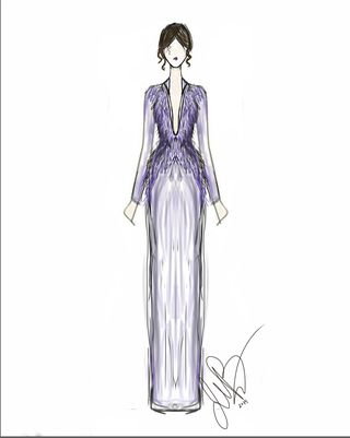 Project Runway All Stars Sketches Sketches Of Golden Globes Dresses