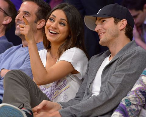 Mila Kunis and Ashton Kutcher Release the First Pics of Their Baby, Prove They Have Top-Notch Genes