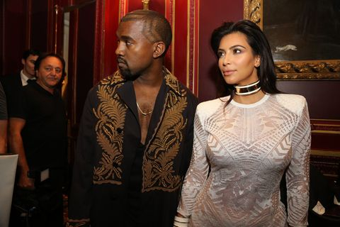 Kanye West Is Giving Kim Kardashian a New Look for 2015