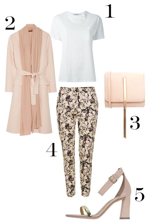 Sleeve, Collar, White, Style, Pattern, Fashion, Fashion design, Peach, Design, Musical instrument accessory,