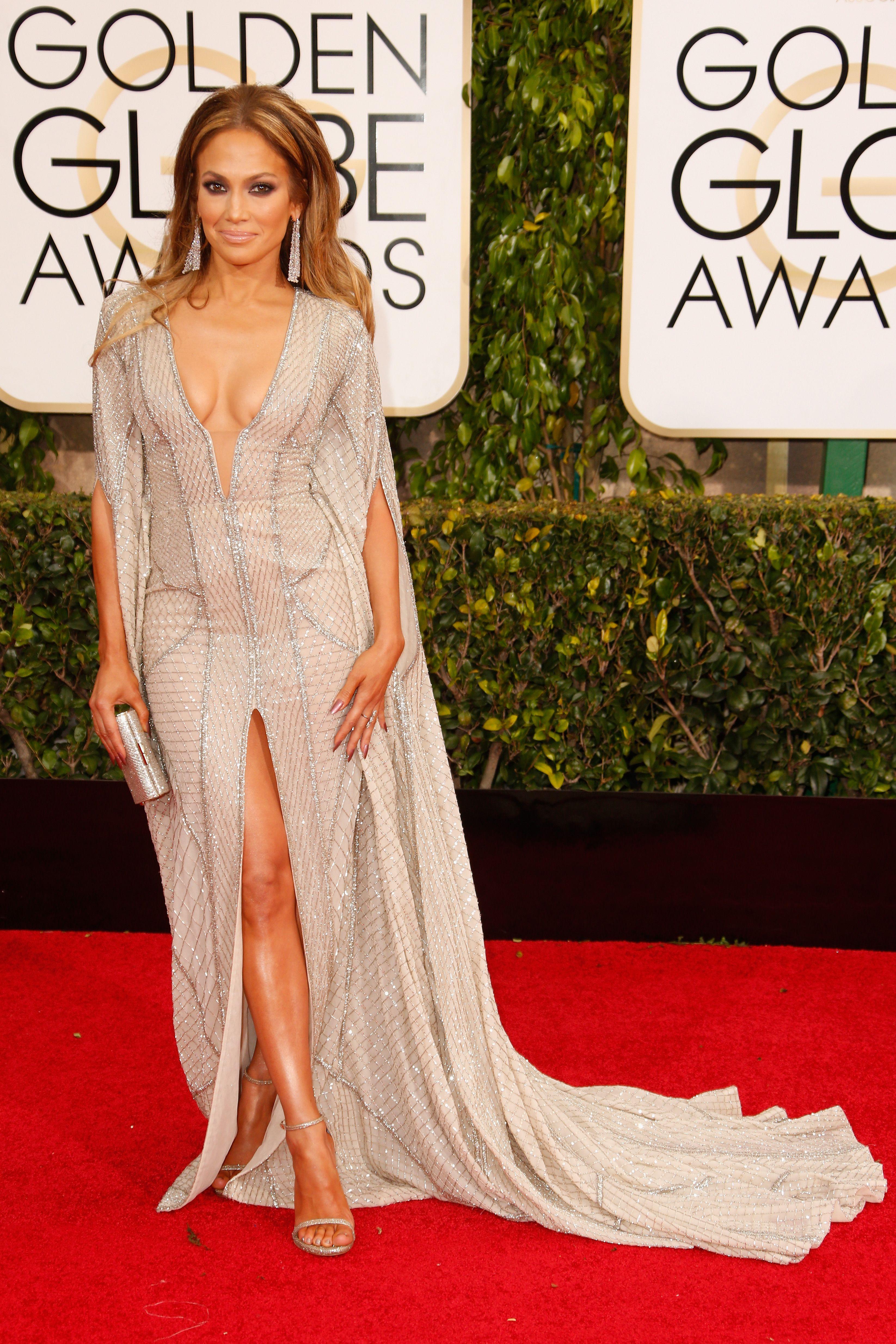 Jennifer Lopez Miiiight Have Had a Nip Slip at the Golden Globes