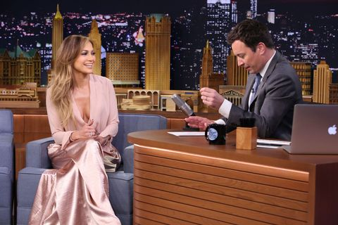 Jennifer Lopez Got Super Competitive on 'Fallon' Last Night, Used Her Butt as a Clue