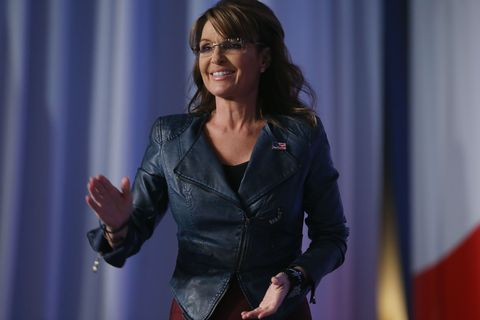 """Sarah Palin Is """"Interested"""" in Running for President in the 2016 Election"""