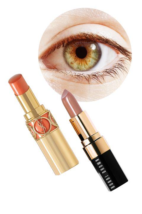 Brown, Product, Eyelash, Amber, Peach, Organ, Lipstick, Iris, Beauty, Cosmetics,