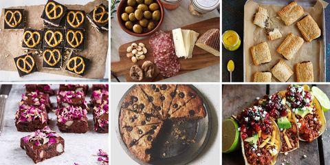 Food, Cuisine, Ingredient, Dish, Baked goods, Tableware, Dessert, Finger food, Recipe, Sweetness,