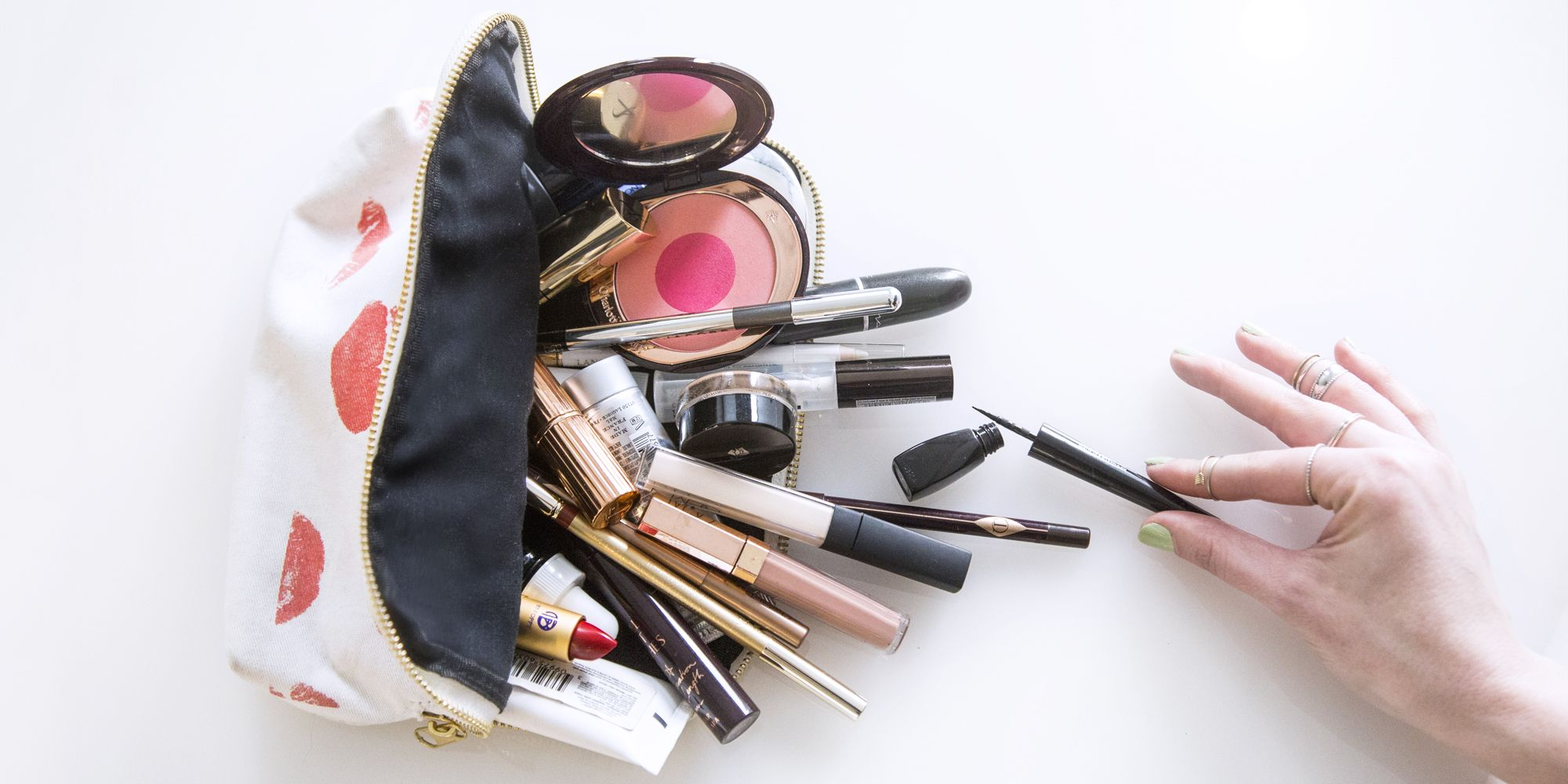 I Emptied My Makeup Bag for a Makeup Artist and This Is the Tough Love She Gave Me
