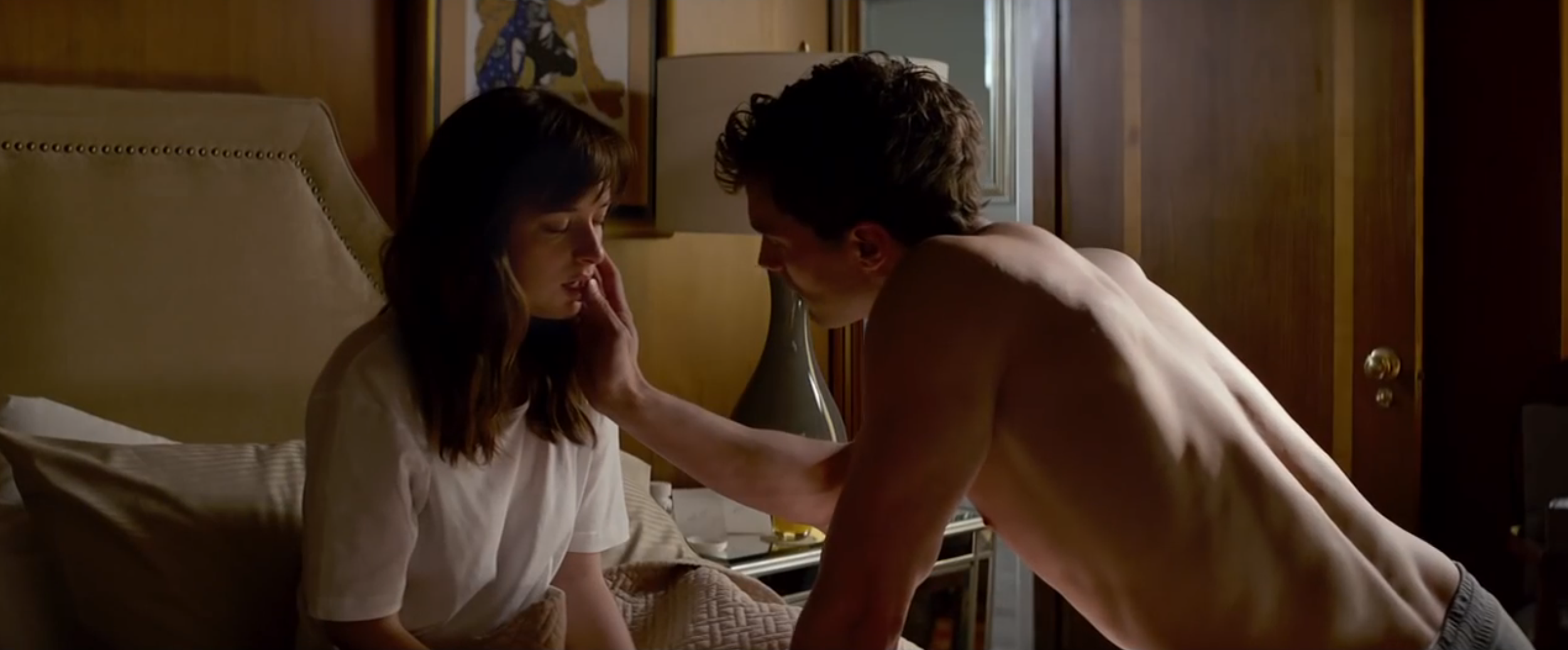 Fifty Shades Of Grey Scene Watch Scene From Fifty Shades Of Gray