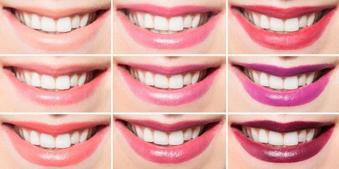 Smile, Lip, Skin, Tooth, Facial expression, Jaw, Beauty, Organ, Close-up, Magenta,