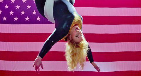 Performing arts, Pink, Magenta, Gymnastics, Dance, Dancer, Artistic gymnastics, Costume, Makeover,