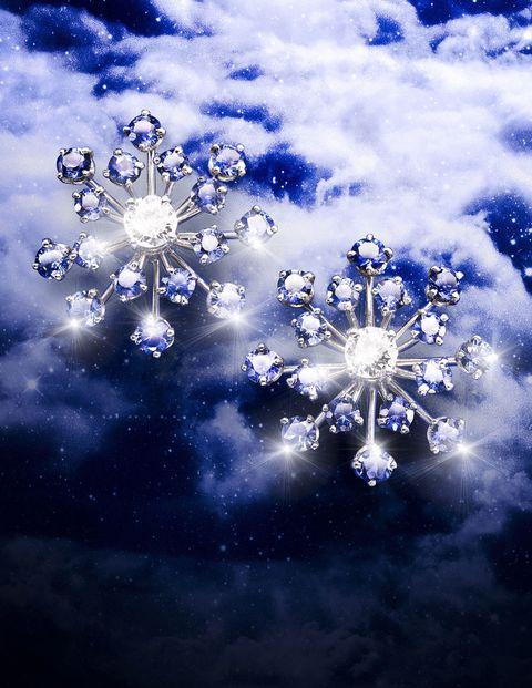 Blue, Pattern, Art, Majorelle blue, World, Space, Electric blue, Snowflake, Design, Silver,