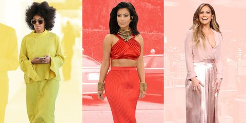 Celebrities Who Always Wear One Color