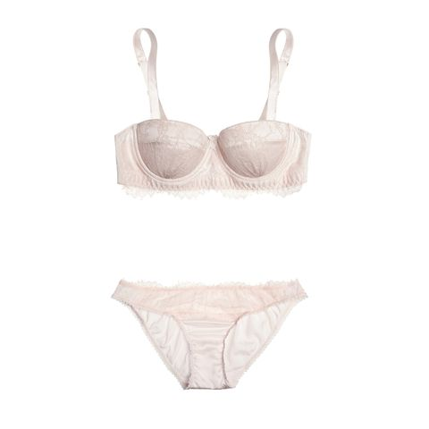 1d1bf14e8 Mimi Holliday by Damaris Oyster Whippy Lace and Stretch-silk Satin  Balconette Bra  95  net-a-porter.com. Mimi Holliday by Damaris Oyster  Whippy Lace-Paneled ...