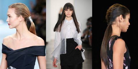 9 Super Pretty Hairstyles We Saw on the Fashion Week Runways