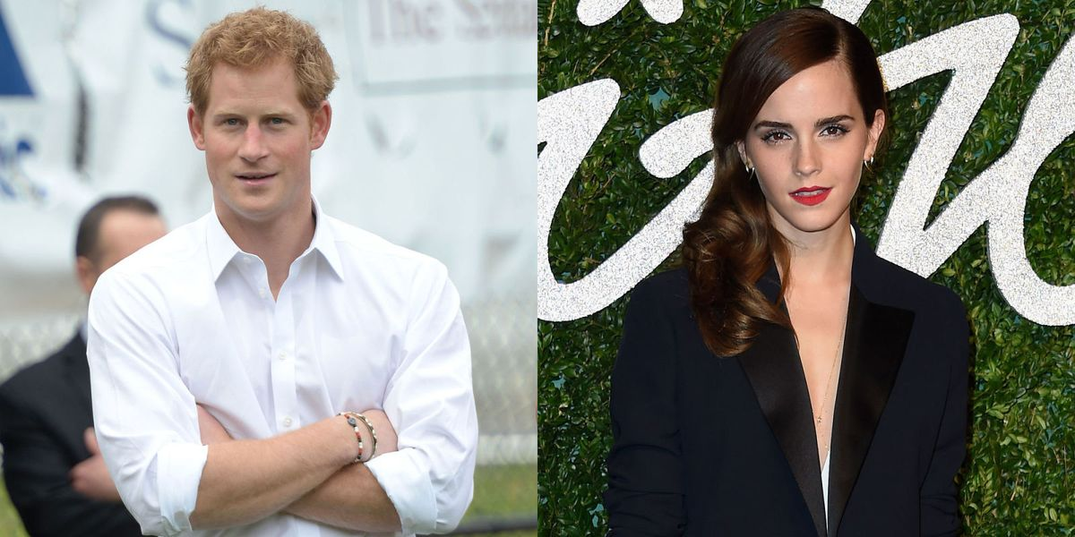 Emma Watson not dating Prince Harry but could be a princess without him