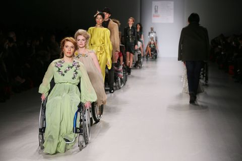 This Groundbreaking Fashion Show Featured Models with Disabilities