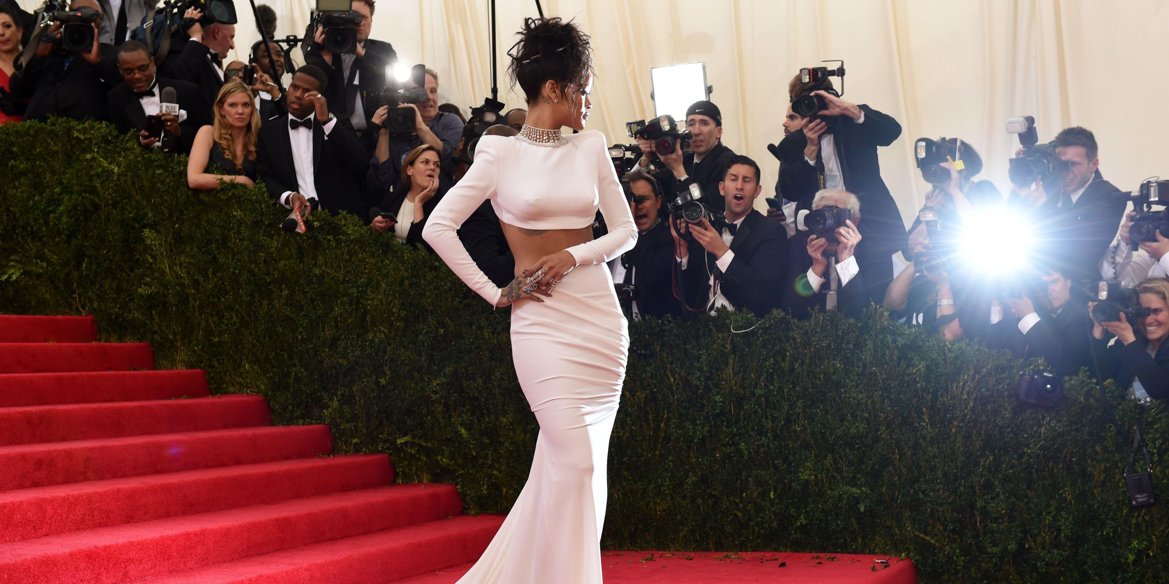 Rihanna Red Carpet Dresses