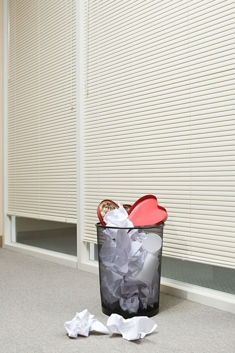 Waste container, Waste, Waste containment, Paper, Household supply, Window covering,