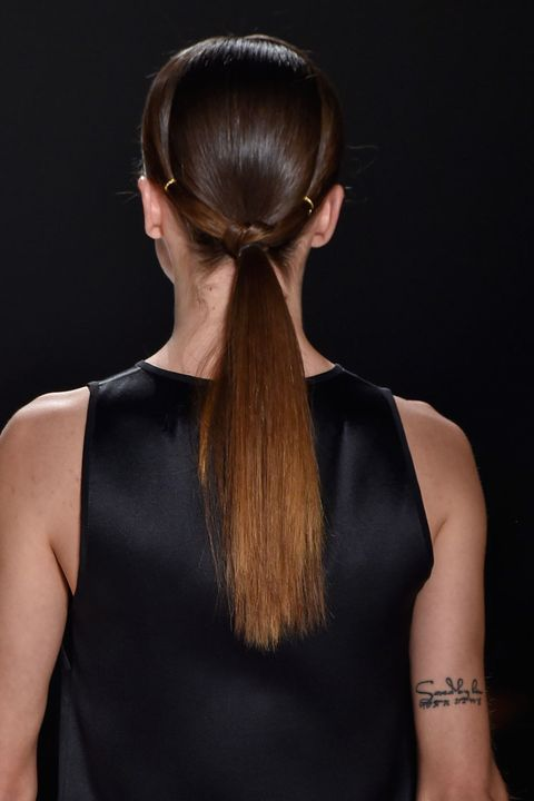 Hair, Ear, Hairstyle, Shoulder, Style, Earrings, Hair accessory, Sleeveless shirt, Beauty, Fashion,