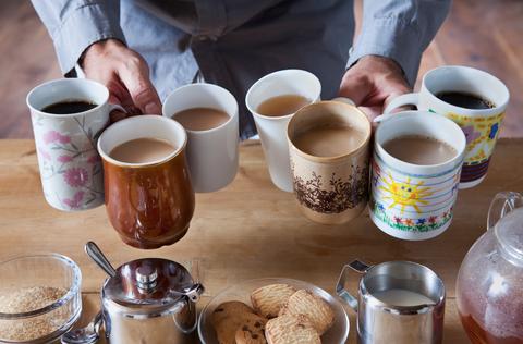 Serveware, Drinkware, Dishware, Drink, Cup, Tableware, Ingredient, Table, Tea, Coffee,