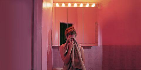 Red, Pink, Magenta, Interior design, Fixture, Purple, Maroon, Coquelicot,