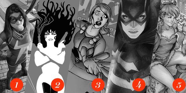 10 Best Female Superheroes
