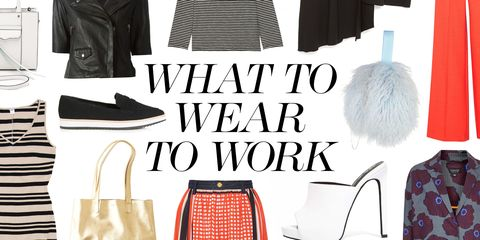 What to Wear to Work When You're Stressed Out and Need Sartorial Stimulation