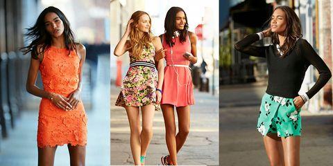 Sleeve, Pattern, Waist, Style, Beauty, Orange, Fashion, Thigh, Trunk, Street fashion,