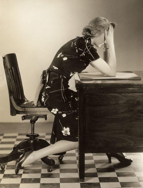 Human body, Sitting, Floor, Flooring, Chair, Monochrome, Sandal, High heels, Office chair, Ankle,