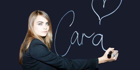 Finger, Handwriting, Wrist, Gesture, Blackboard, Flash photography, Long hair, Street fashion, Nail, Blond,