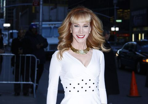 Kathy Griffin Has Quit 'Fashion Police'