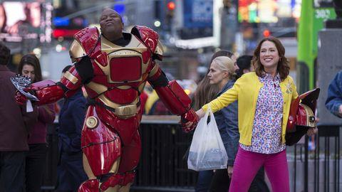 Iron man, Costume, Superhero, Carmine, Fictional character, Armour, Avengers, Scarf, Street fashion, Hero,