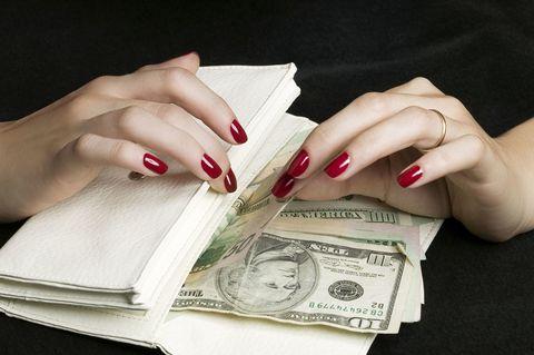 Finger, Hand, Nail, Paper product, Wrist, Paper, Carmine, Money, Cash, Banknote,