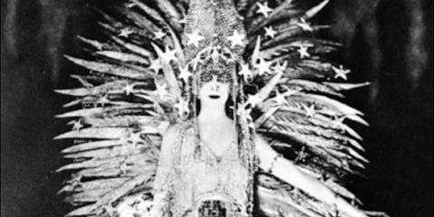 Monochrome, Tribal chief, Art, Monochrome photography, Feather, Costume design, Black-and-white, Mythology, Tradition, Animal product,